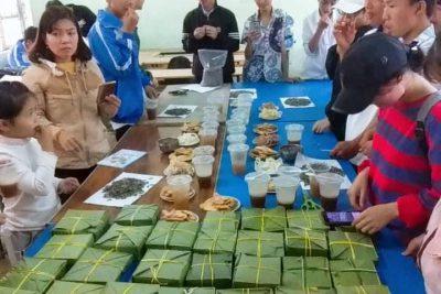 Hoạt động trải nghiệm cho học sinh: Làm bánh Trưng trong dịp Tết cổ truyền