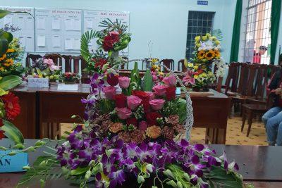 Cắm hoa chào mừng ngày Nhà giáo việt nam 20/11/2018