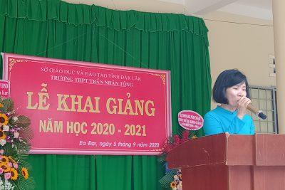 Hình ảnh Lễ khai giảng năm học 2020-2021