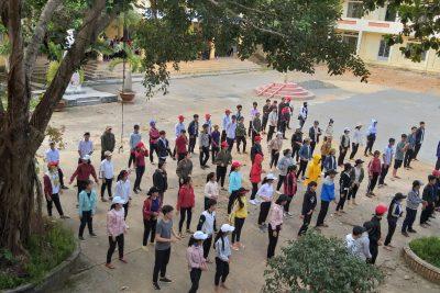 Học sinh trường THPT Trần Nhân Tông sinh hoạt ngoại khóa đầu năm học 2018 – 2019